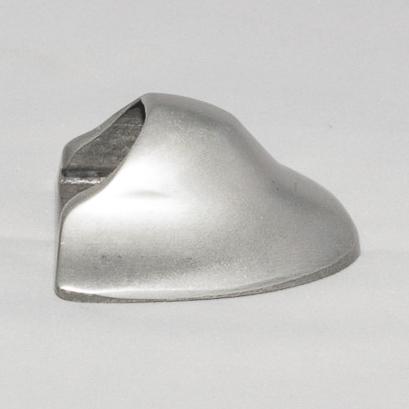 Eindkap aluminium houderprofiel